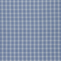 Manton Fabrics | Dunsford Plaid - Sky | Curtain fabrics | Designers Guild