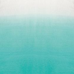 Mazan Fabrics | Saraille - Aqua | Curtain fabrics | Designers Guild