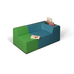 do_linette Childrens chair long with niche for books | Kids armchairs / sofas | Designheiten