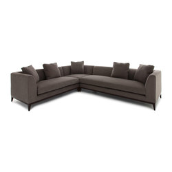 Pollock corner sofa | Divani lounge | The Sofa & Chair Company Ltd