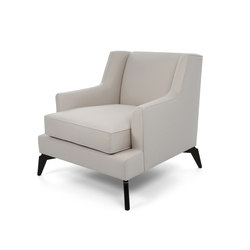 Enzo occasional chair | Poltrone lounge | The Sofa & Chair Company Ltd