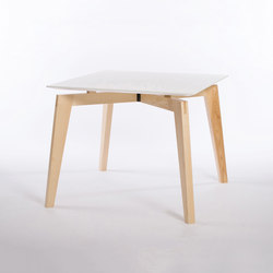 Private Space Dining Table Ash 90 | Mesas de reuniones | ellenbergerdesign