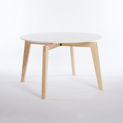 Private Space Dining Table Ash 120 | Tables de réunion | ellenbergerdesign