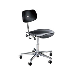 S 197 R chromed wheels | Office chairs | Wilde + Spieth