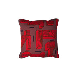 Printed Cushion In the grass red | Coussins | Hay