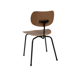 SE 68 walnut | Visitors chairs / Side chairs | Wilde + Spieth