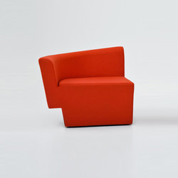 Chopin Armchair | Modular seating elements | Comforty