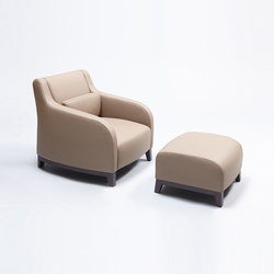 Collins Armchair and Ottoman | Armchairs | Comforty