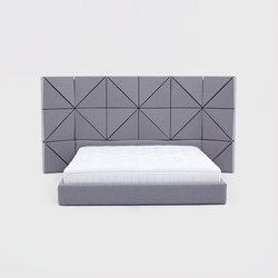 Floe Bed | Bed headboards | Comforty