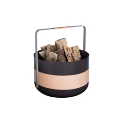 Emma Exclusive Wood basket | Portalegna | Eldvarm
