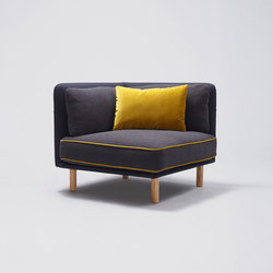 Palafitte Armchair | Modular seating elements | Comforty