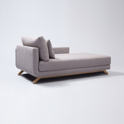 Pesto Chaise Longue | Modular seating elements | Comforty
