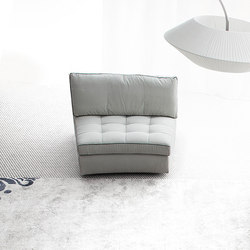 Attimo easy chair | Armchairs | Erba Italia