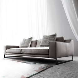 Indizio leather | Lounge sofas | Erba Italia