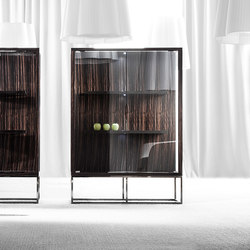 Pensami glass cabinet | Display cabinets | Erba Italia