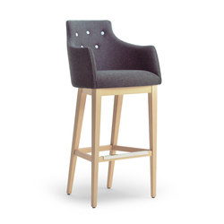 ALBERT ONE | SGSC ARM DELUXE | Bar stools | Accento