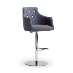 ALBERT ONE | SGSC ARM METAL DELUXE | Bar stools | Accento