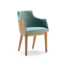 ALBERT ONE | SBL ARM | Visitors chairs / Side chairs | Accento