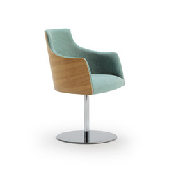 ALBERT ONE | SB1 ARM | Visitors chairs / Side chairs | Accento