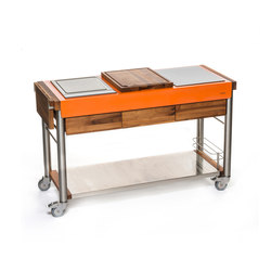 Serveboy | ultimo (orange) | Outdoor kitchens | Indu+