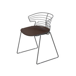 Cove outdoor | Garden chairs | The Quadrifoglio Group