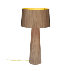Sophie floor extra tall 1700 walnut gold | General lighting | lasfera