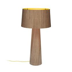 Sophie floor extra tall 1700 walnut gold | Luminaires sur pied | lasfera
