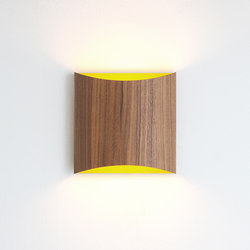 Sophie wall walnut yellow | General lighting | lasfera