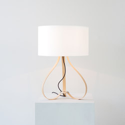Yun table lamp oak | Iluminación general | lasfera