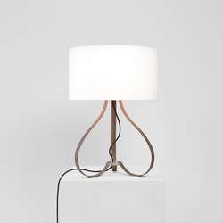 Yun table lamp walnut | Iluminación general | lasfera