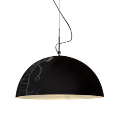 Mezza Luna 1 lavagna pendant | General lighting | in-es artdesign