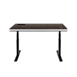 TableAir Dark Walnut | Height-adjustable desks | TableAir
