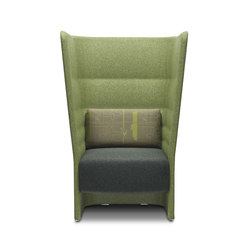 Cell 128 high-back armchair | Armchairs | sitland