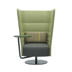 Cell 128 high-back armchair | Lounge-work seating | sitland