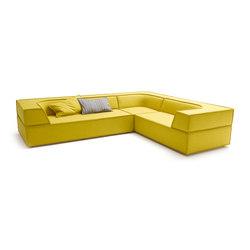Trio Corner sofa | Divani lounge | COR
