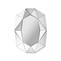 Diamond Big silver | Mirrors | Reflections by Hugau/Larsson
