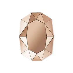 Diamond Small rose gold | Espejos | Reflections by Hugau/Larsson