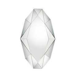 Diamond XL silver | Specchi | Reflections by Hugau/Larsson