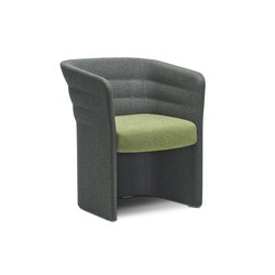 Cell 75 upholstered easy chair | Lounge chairs | SitLand