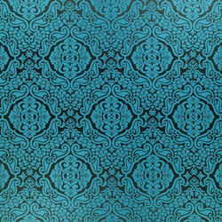 Milano Fabrics | Venezia - Turquoise | Tissus pour rideaux | Designers Guild
