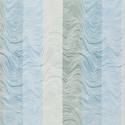 Mirafiori Fabrics | Laurentino - Wedgwood | Tissus pour rideaux | Designers Guild