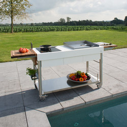 Serveboy Superbianco | ultimo unico | Outdoor kitchens | Indu+