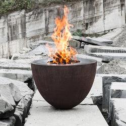 Ovum | Caminetti da giardino | Feuerring