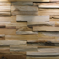 BUMPY | Holz Platten | Teak Your Wall