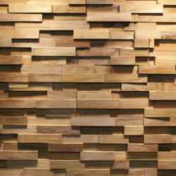 JAVA SP STRAIGHT | Holz Platten | Teak Your Wall