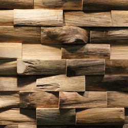 JAVA SP LARGE | Holzplatten / Holzwerkstoffplatten | Teak Your Wall