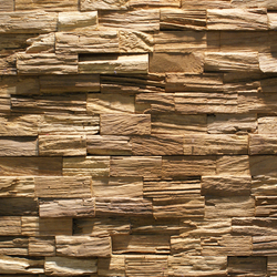 JAVA RUSTIC | Wood panels | Teak Your Wall