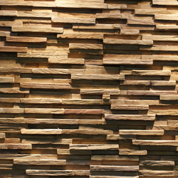 JAVA SP TINY | Holz Platten | Teak Your Wall