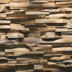 SKIN PANEL L | Holz Platten | Teak Your Wall