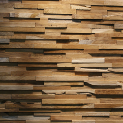 SKIN PANEL MATRIX | Holz Platten | Teak Your Wall